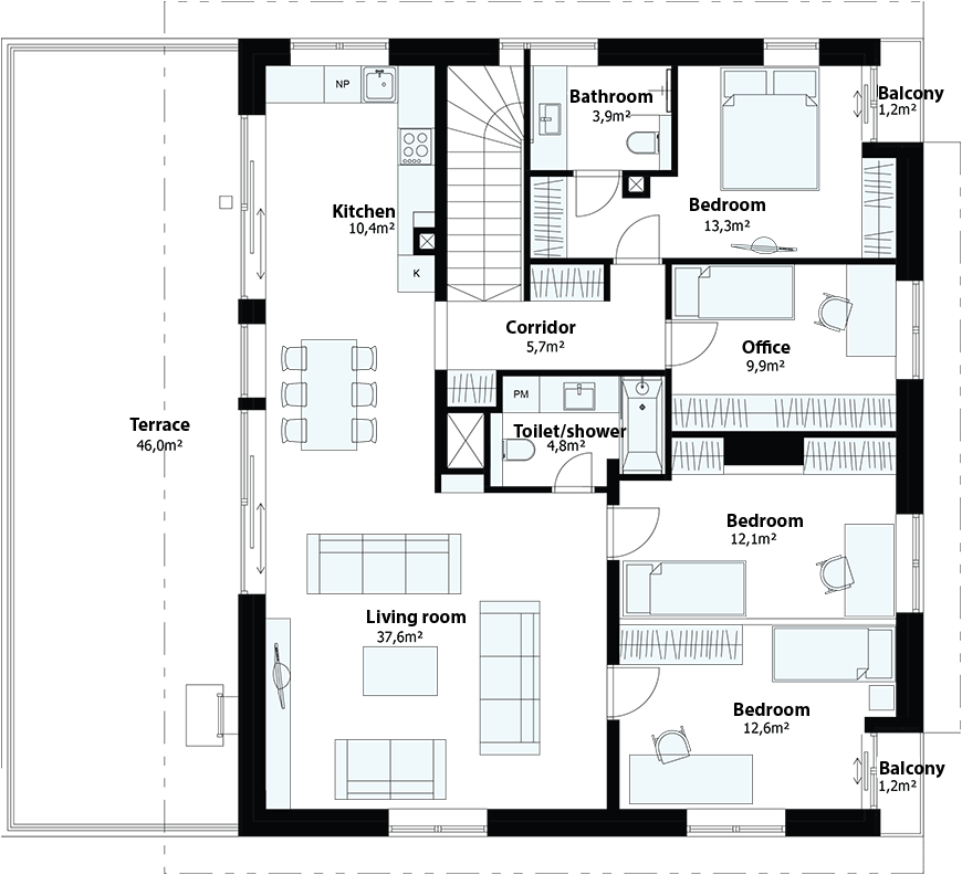 Elsa maja - Floor - 4